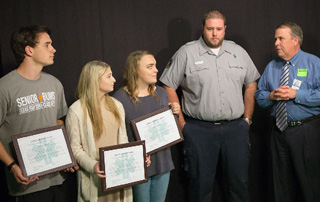 3 Texas High Teens receive the LifeNet Lifesaver Award