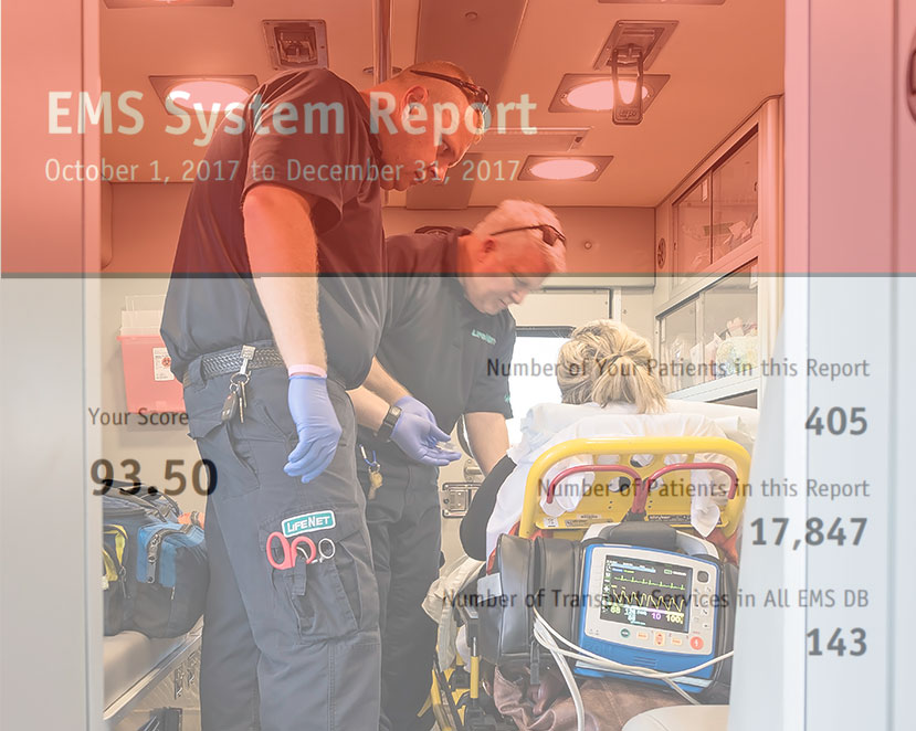 Q4 2017 EMS System Report for LifeNet Ambulance Service