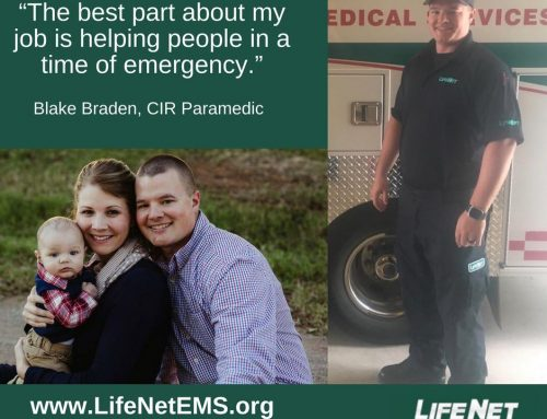 Employee Spotlight: Blake Braden, Paramedic, Stillwater, OK