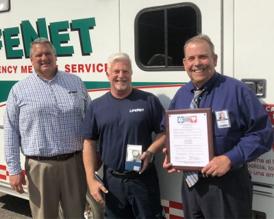 Terry Childers Named 2018 Star of Life Paramedic LifeNet Hot Springs Arkansas Division