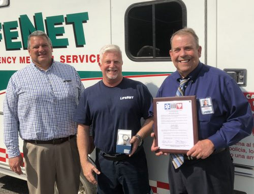 LifeNet Recognizes Terry Childers for Star of Life Honors