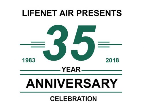 LifeNet Air Looking for Former Patients for 35th Anniversary Celebration