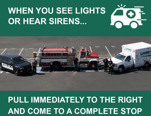 Don't Panic, Just Move Over for Lights, Sirens