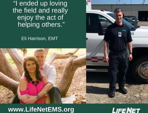 Employee Spotlight: Eli Harrison, EMT, Stillwater, OK