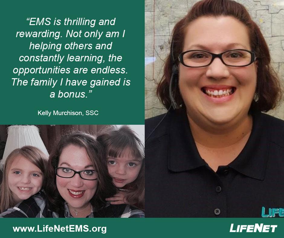 Kelly Murchison, Dispatcher, LifeNet EMS, Texarkana, TX Jobs