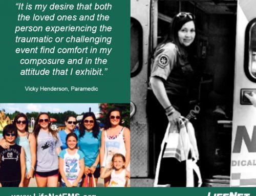 Employee Spotlight: Vicky Henderson, Paramedic, Texarkana, TX