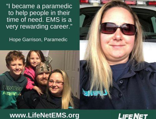 Employee Spotlight: Hope Garrison, Paramedic, Hot Springs, AR