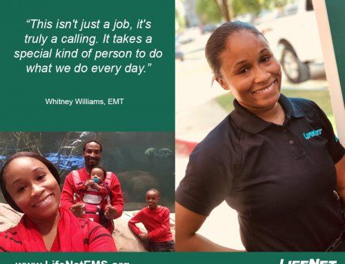 Employee Spotlight: Whitney Williams, Paramedic, Texarkana, TX