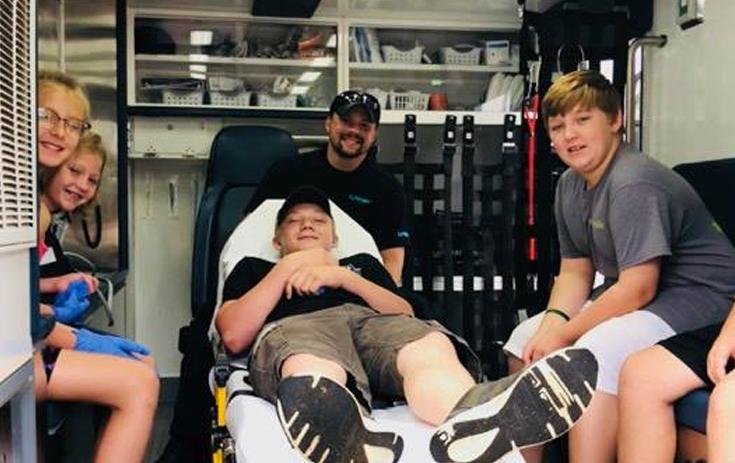 Malvern 4H Camp Ambulance Tours