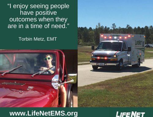 Employee Spotlight: Torbin Metz, EMT, Stillwater, OK
