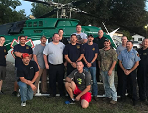 LifeNet Air 2 Hosts LZ Class in Malvern