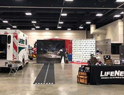 LifeNet Wins Best Decorated Booth at AEMTA Conference