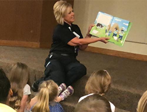 LifeNet Does Story Time at Texarkana Library