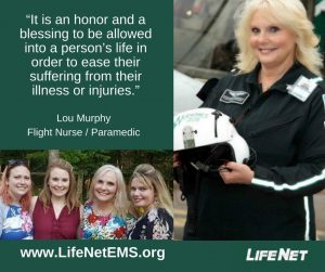 Lou Murphy, Flight Nurse, Texarkana, TX