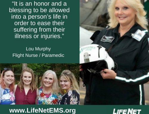 Employee Spotlight: Lou Murphy, Flight Nurse, Texarkana, TX