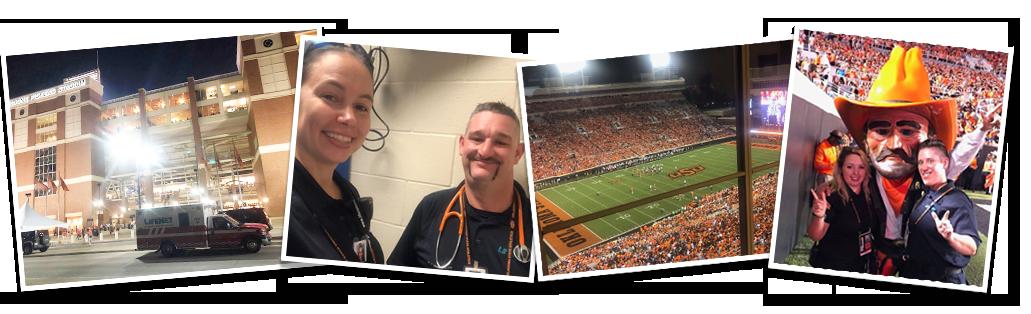 OSU vs. Missouri State Football, LifeNet EMS, Stillwater