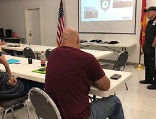 LifeNet Air Teaches Miller County LZ Class