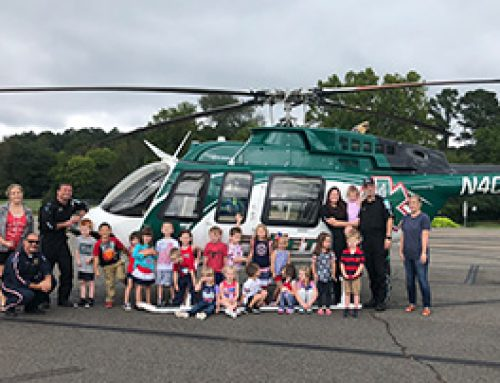 LifeNet Air 2 Visits Magnet Cove Elementary