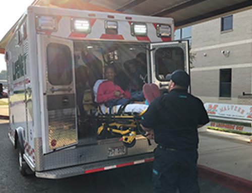 LifeNet Staff Teach Malvern Middle School About EMS Careers