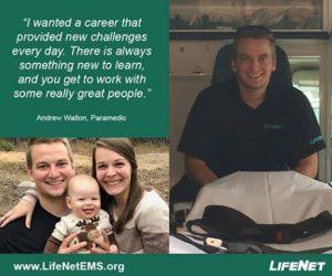 Andrew Walton, Paramedic, LifeNet EMS, Hot Springs, Arkansas