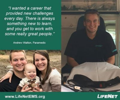 Andrew Walton, Paramedic, LifeNet EMS, Hot Springs, Arkansas