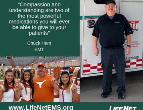 Chuck Ham, EMT, Texarkana