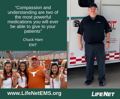Chuck Ham, EMT, LifeNet EMS, Texarkana EMT Jobs
