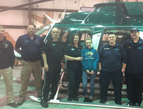 Former Patient Meets Crew That Saved Her