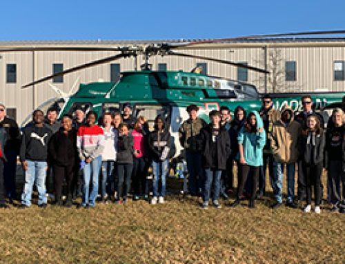 LifeNet Air 2 Teaches Kids About Careers in EMS