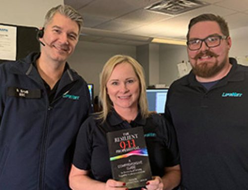 LifeNet Dispatchers Receive Donated 9-1-1 Book