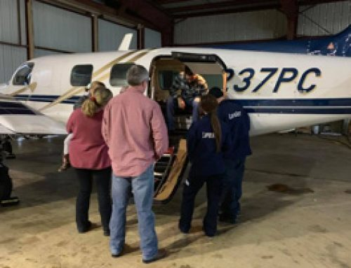 LifeNet Crews Learn About Fixed Wing Transport