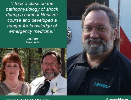 Joe Fritz, Paramedic, Texarkana