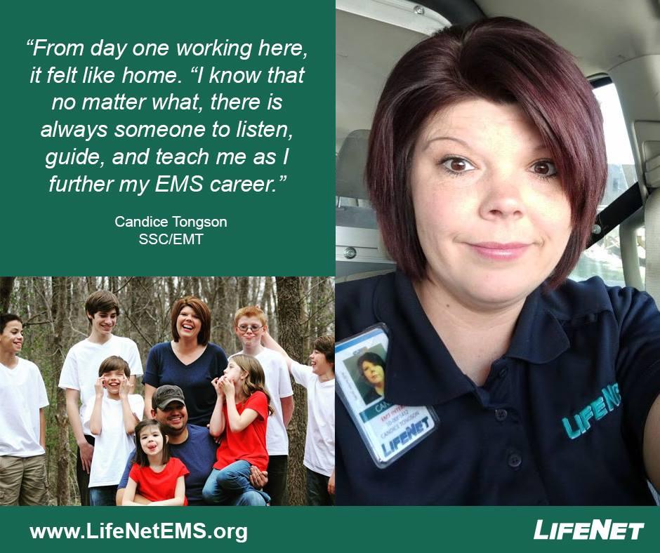 Candice Tongson, SSC, LifeNet EMS, Texarkana Division