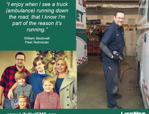 William Stockwell, Fleet Technician, Hot Springs