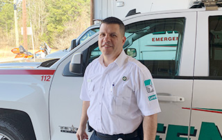 Shon Matthews, LifeNet EMS Operations Manager named 2019 Star of Life for Texarkana Division.