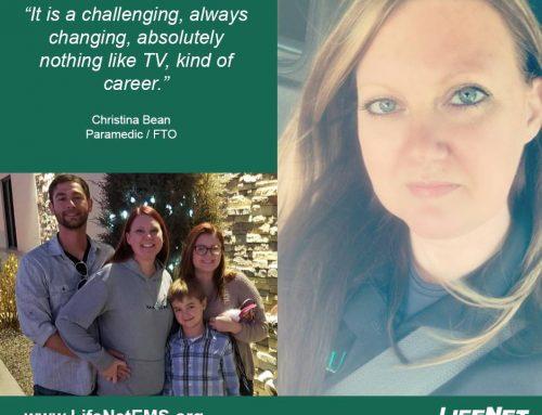 Christina Bean, Paramedic, Stillwater