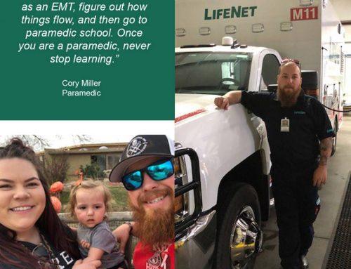 Cory Miller, Paramedic, Stillwater