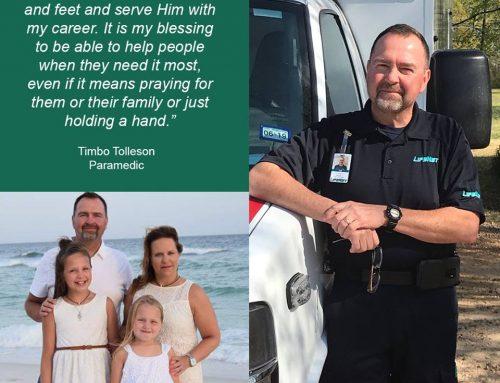 Timbo Tolleson, Paramedic, Texarkana
