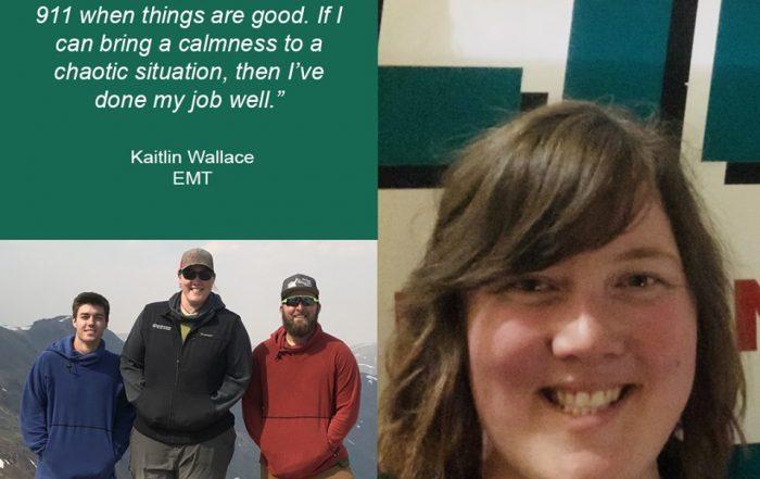 Kaitlin Wallace, EMT, LifeNet EMS, Stillwater, Oklahoma