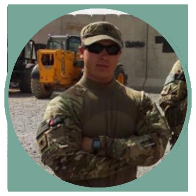 Zack Pruitt, US Army National Guard