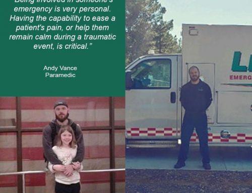 Andy Vance, Paramedic, Texarkana