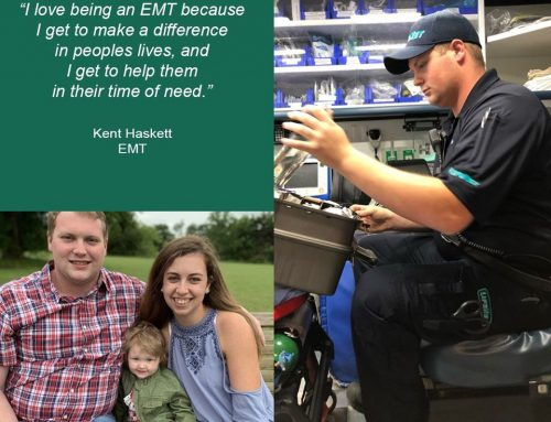 Kent Haskett, EMT, Denison