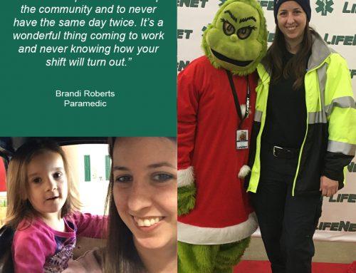 Brandi Roberts, Paramedic, Denison