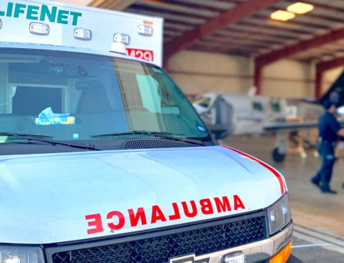LifeNet Paramedic Hospitalized with COVID-19