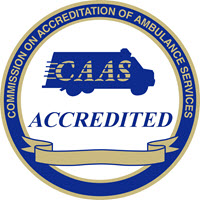 CAAS Accredited Logo Ambulance Service