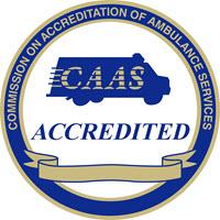 CAAS Accredited Logo Ambulance Service