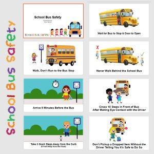 Free School Bus Safety PowerPoint Presentation for Elementary Kids